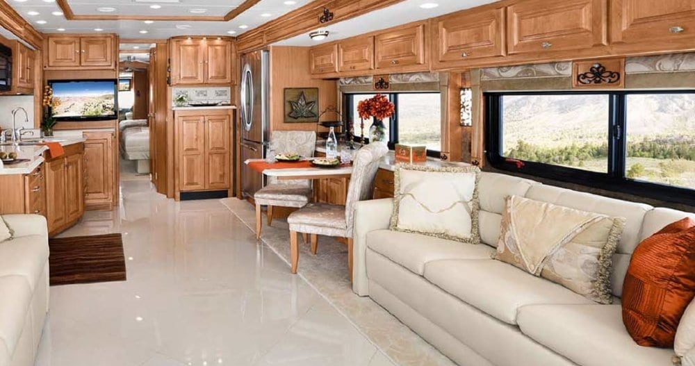 Just like our motorhome, but different colorway.