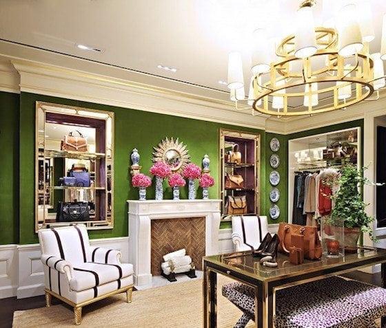 Tory Burch's Living Room