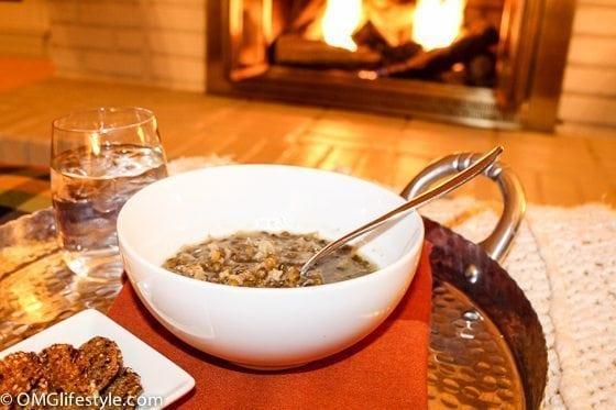 Lebanese Lentil and Rice Soup