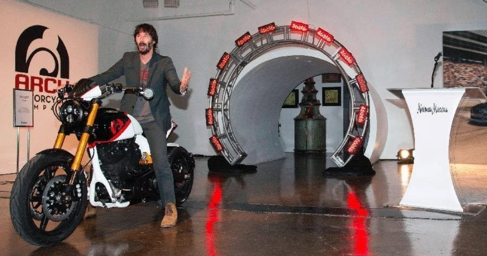 How about a very special motorcycle and a two-day ride with Keanu Reeves for Christmas?