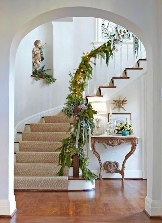 Elegant Stair Garland