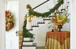 Festive Fruit Garland