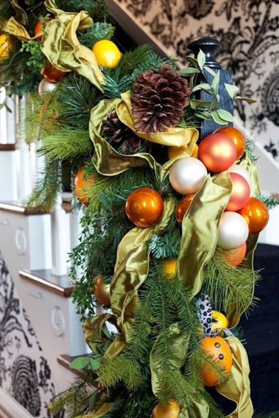 Holiday Garland with Oranges