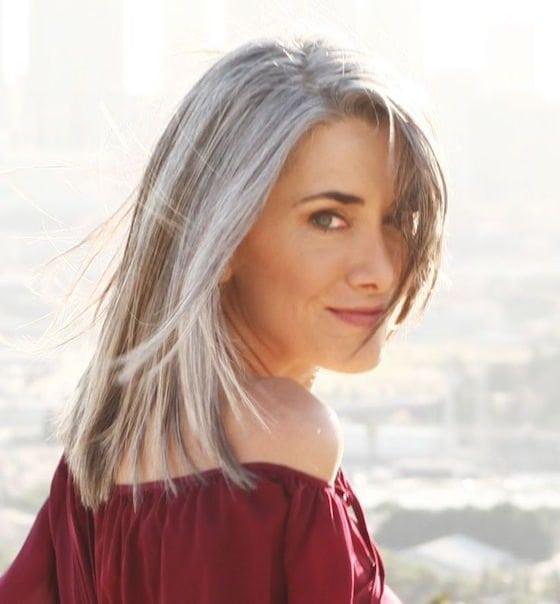 Straight Gray Hair