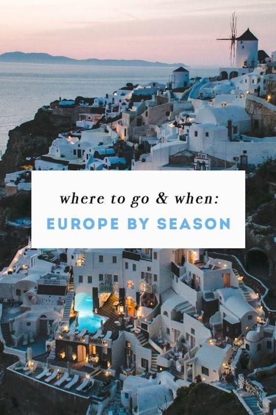Europe by Season