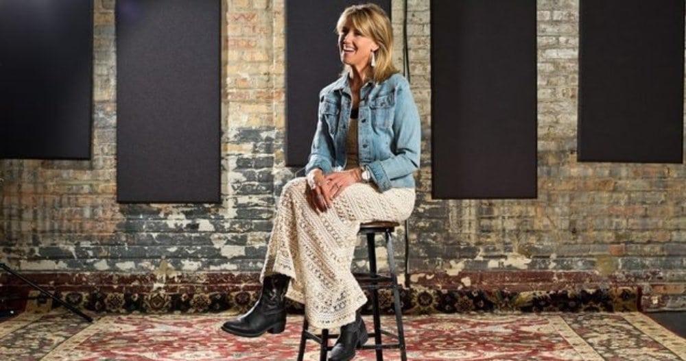 Val Haller in her Chicago 'house concert' room