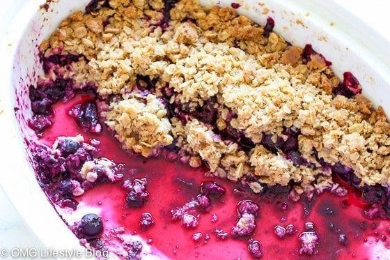 Delicious-Blueberry-Crisp