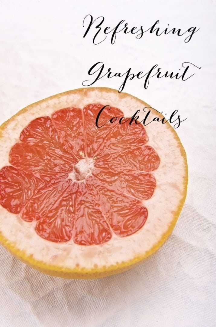 Refreshing Grapefruit Cocktails