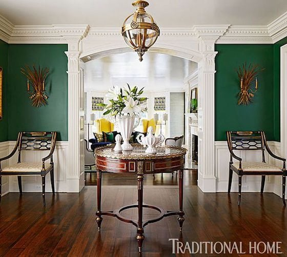 Stunning Green Walls