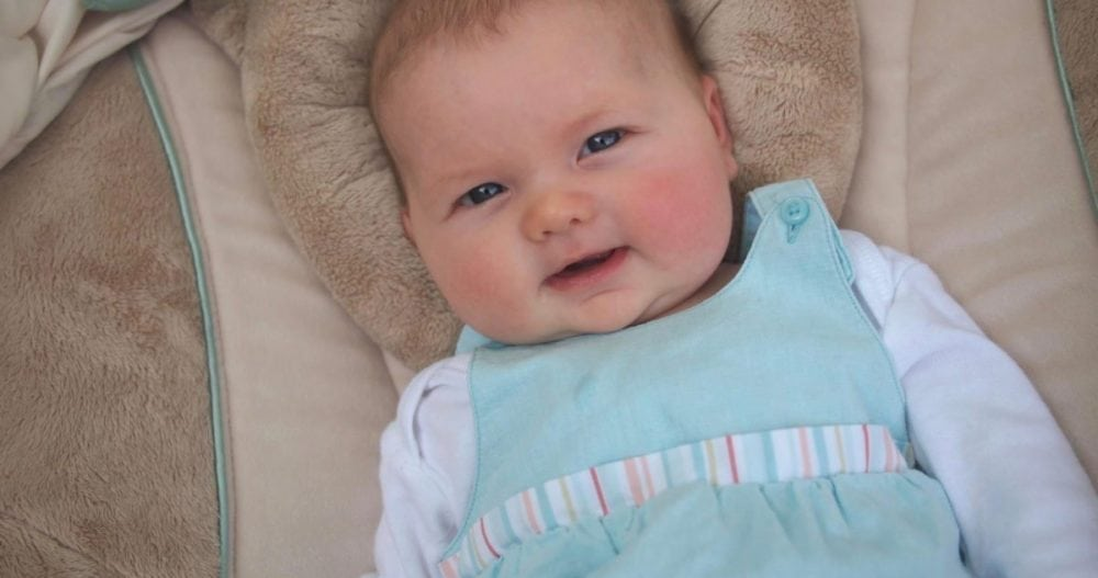 Greta, one month prior to initial diagnosis, May 2013