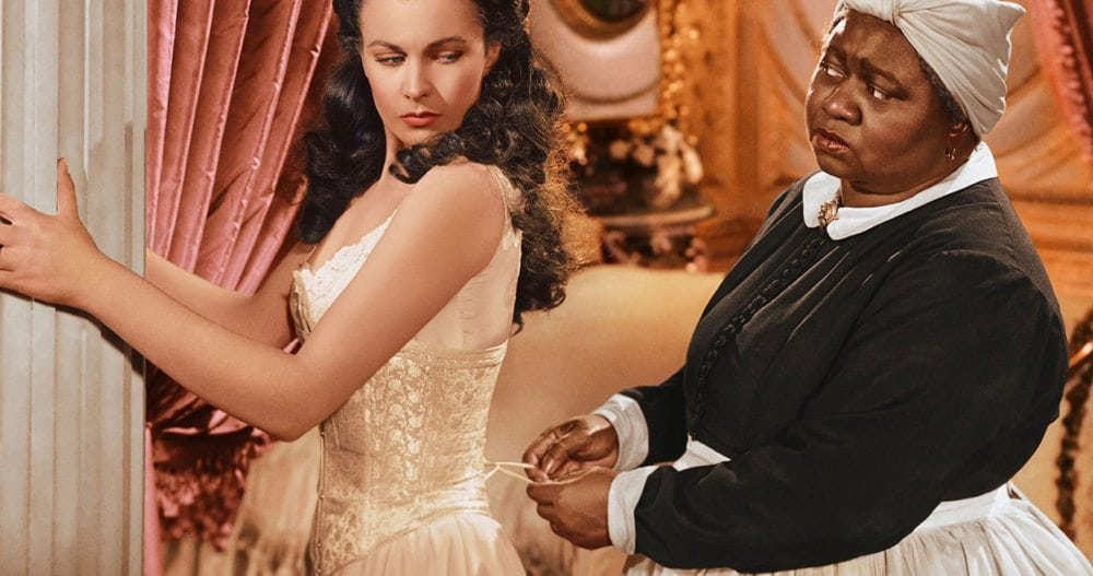 Scarlett and Mammy in 'Gone With the Wind'