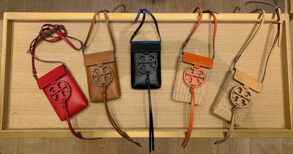 TORY BURCH MILLER CROSSBODY BAGS, Photos by Brenda Coffee, ©2019