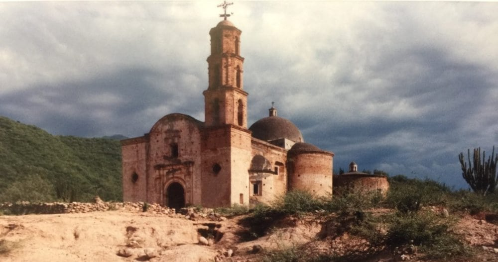 ALL PHOTOS ©BRENDA COFFEE, 2018. THE CHURCH OUTSIDE BATOPILAS, MEXICO.