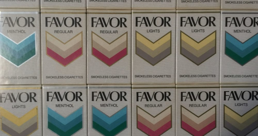 FAVORⓇ SMOKELESS CIGARETTES, Photograph by Brenda Coffee, ©1010ParkPlace, 2018