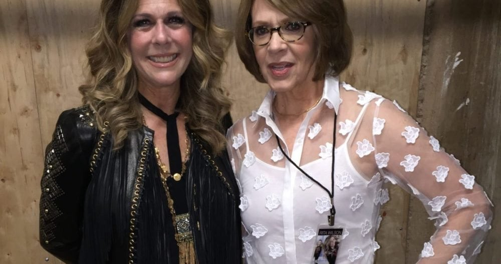 Rita Wilson and Brenda Coffee, Austin, Texas