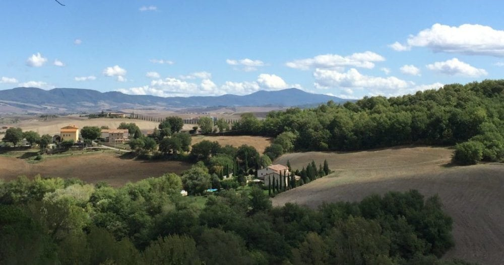 THE VIEW OF TUSCANY FROM OUR VILLA All Photographs ©Brenda Coffee, 2017