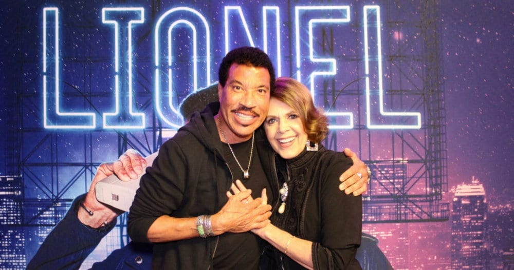 Lionel Richie & Brenda Coffee. Photograph courtesy of Lionel Richie, 2019.