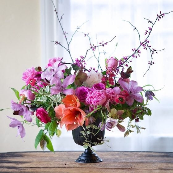 Gorgeous floral arrangement by Kiana Underwood from Tulipina