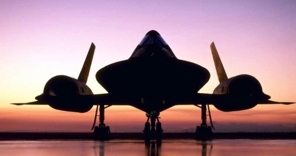 "The SR-71 ""Blackbird."""