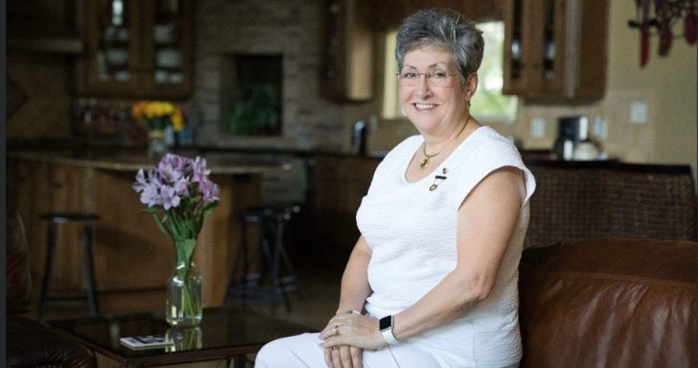 Candy Martin, President, American Gold Star Mothers