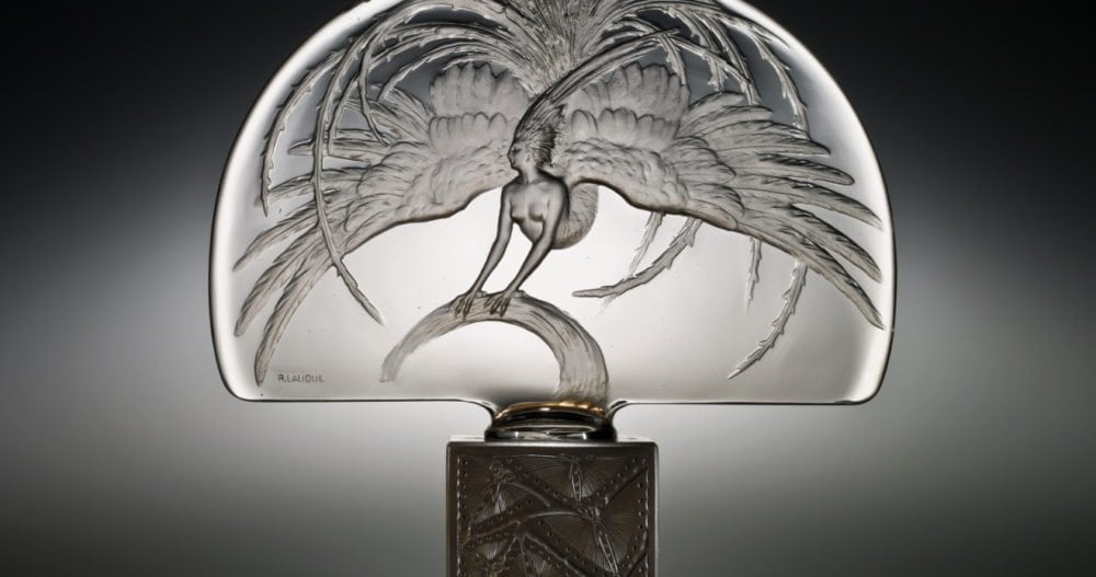 Heritage Auction and longtime Antique's Roadshow's appraiser, Nick Dawes, is perhaps the world's foremost authority on Lalique. Rene Lalique 'Oiseau de Feu' Luminaire.