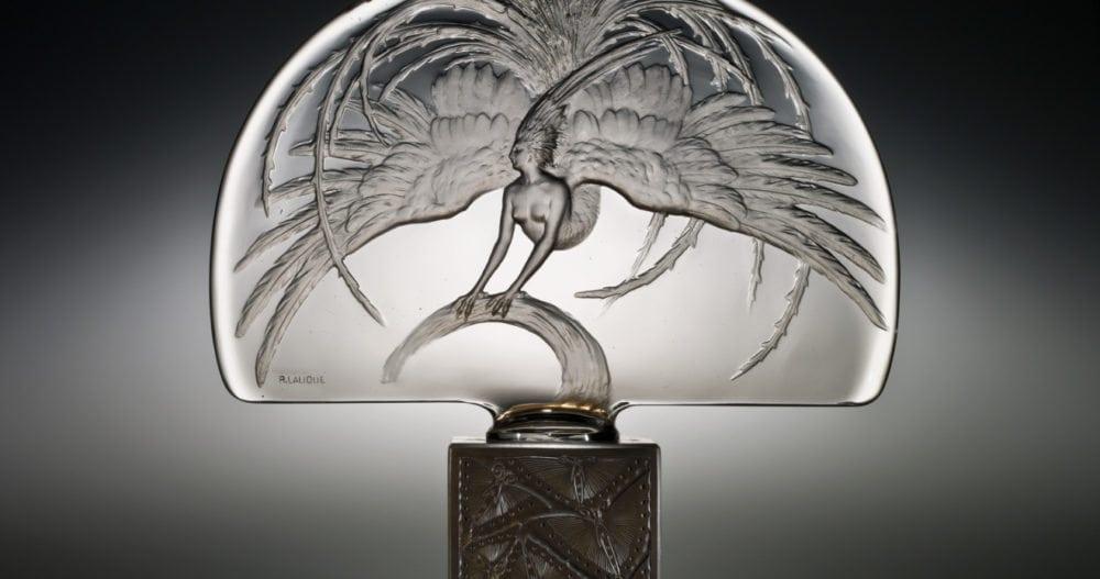 Heritage Auction and longtime Antique's Roadshow's appraiser, Nick Dawes, is perhaps the world's foremost authority on Lalique. Rene Lalique 'Oiseau de Feu' Luminaire.