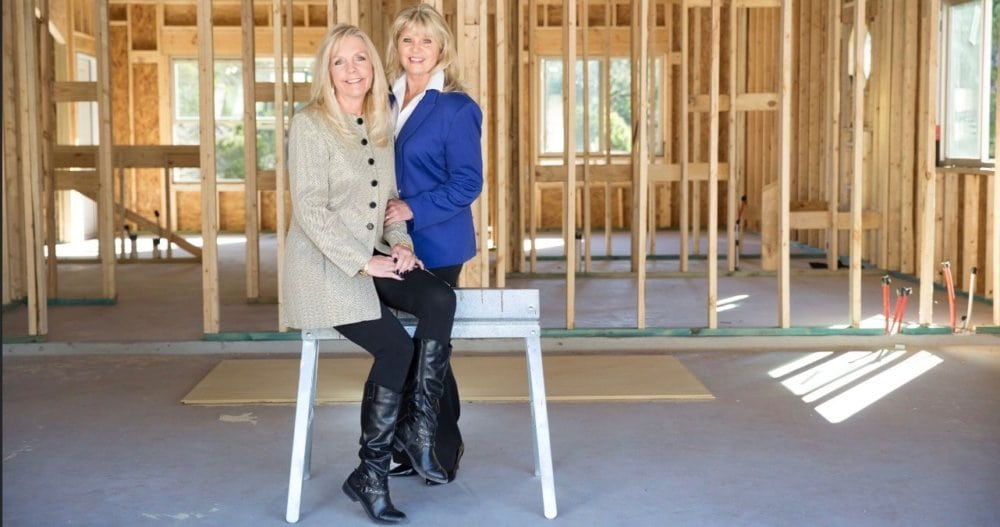 Debbie White and Deana Sears, Partners in Southern Charm Builders. Photography by Jennifer Denton.