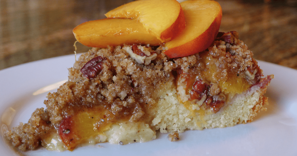 peach coffee cake fresh coffee cake 1010 park place 6402