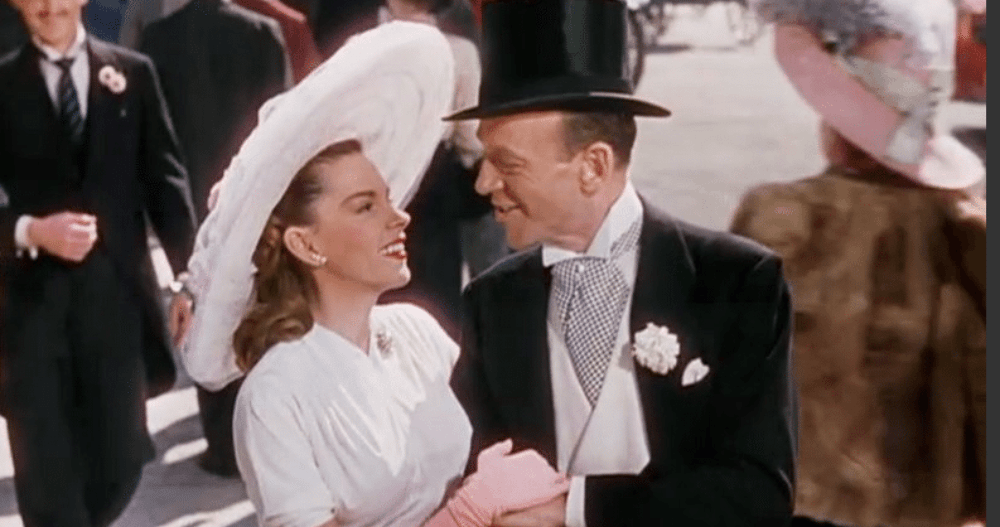 JUDY GARLAND AND FRED ASTAIRE, 'EASTER PARADE,' 1948