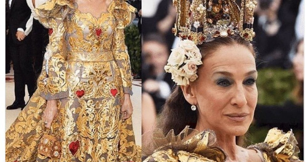 PHOTOS FROM STEFANO GABBANA'S INSTAGRAM PAGE. HE WAS IN NO WAY MEAN TO SARAH JESSICA PARKER.