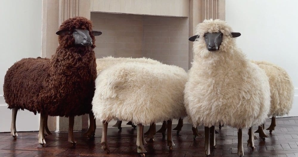 Francois-Xavier's and Claude Lalanne's Sheep Chairs