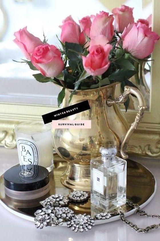 silver tea kettle vase