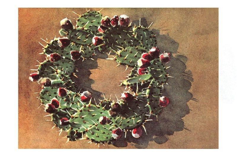 Christmas Cactus by Brad Braune, 1981